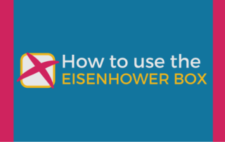 How to use the Eisenhower Box