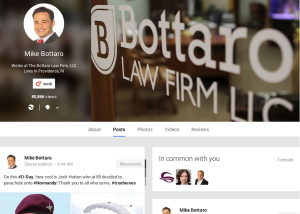 Bottaro Law Firm Social Media