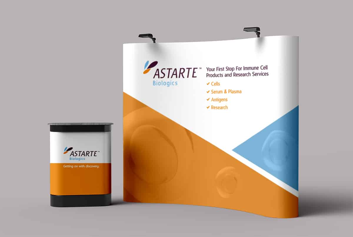 Astarte Biologics Booth Design