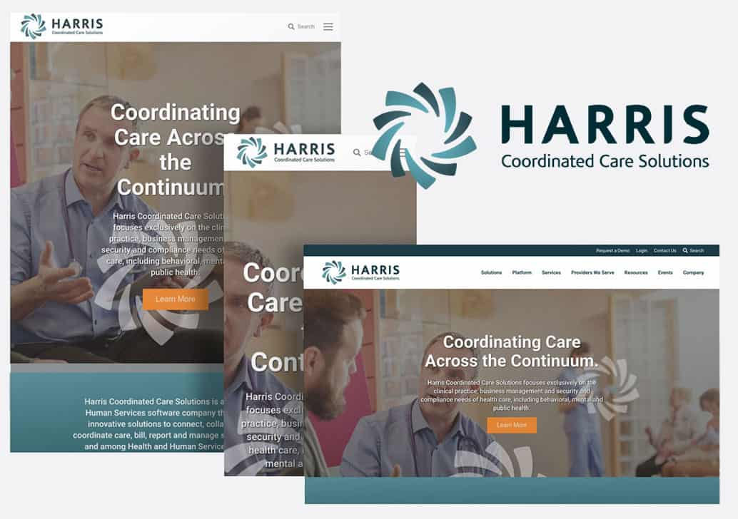 Harris Healthcare Website Design
