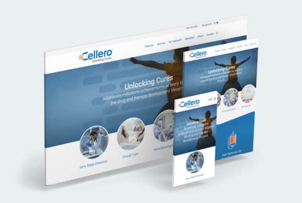 Cellero Website Design